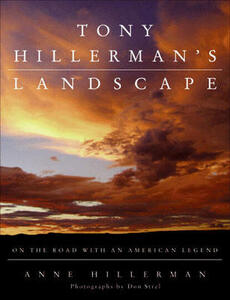 Tony Hillerman's Landscape: On the Road with Chee and Leaphorn - Anne Hillerman - cover