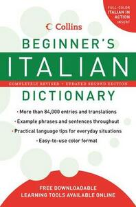Collins Beginner's Italian Dictionary - cover