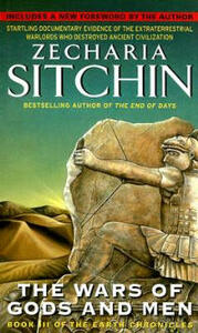 The Wars of Gods and Men - Zecharia Sitchin - cover