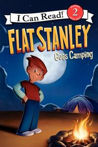 Flat Stanley Goes Camping - Jeff Brown - cover