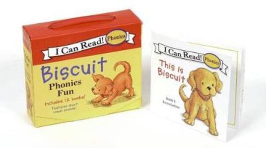 Biscuit Phonics Fun - Alyssa Satin Capucilli - cover