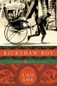Rickshaw Boy - Lao She - cover
