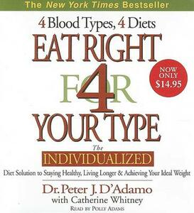 Eat Right for Your Type CD Low Price - Peter D'Adamo - cover