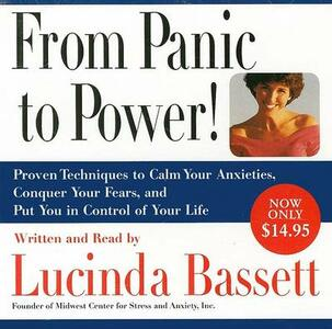 From Panic to Power CD Low Price - Lucinda Bassett - cover