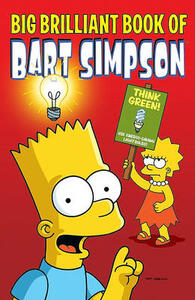 Big Brilliant Book of Bart Simpson - Matt Groening - cover
