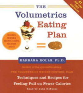 The Volumetrics Eating Plan 2/120 Abridged - Barbara Rolls - cover