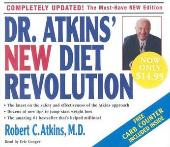 Dr. Atkins' New Diet Revolution - Robert C Atkins - cover