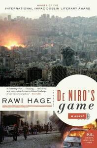De Niro's Game - Rawi Hage - cover