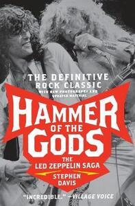 Hammer of the Gods: The Led Zeppelin Saga - Stephen Davis - cover