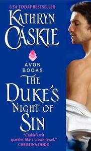 The Duke's Night of Sin - Kathryn Caskie - cover