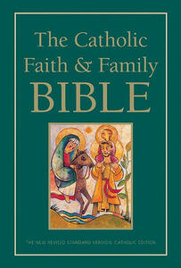 NRSV - The Catholic Faith and Family Bible - Harper Bibles - cover