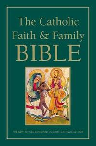 NRSV, The Catholic Faith and Family Bible, Paperback - Harper Bibles - cover
