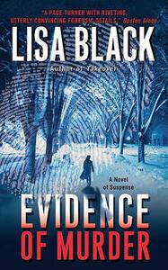 Evidence of Murder - Lisa Black - cover