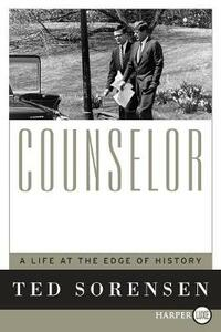 Counselor Large Print - Ted Sorensen - cover