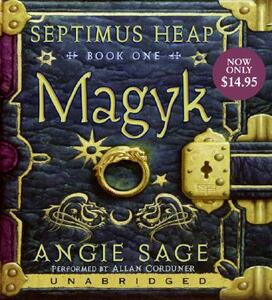 Magyk Low Price CD - Angie Sage - cover