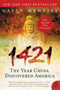1421: The Year China Discovered America - Gavin Menzies - cover