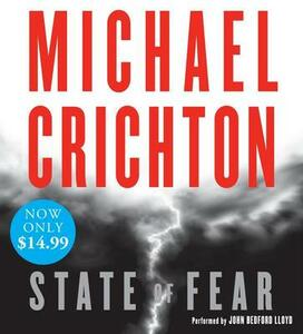 State of Fear - Michael Crichton - cover
