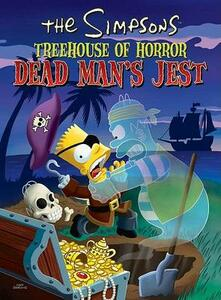 The Simpsons Treehouse of Horror Dead Man's Jest - Matt Groening - cover
