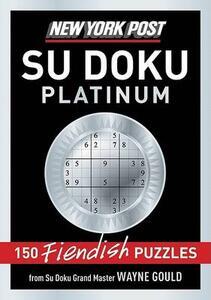 New York Post Platinum Su Doku - Wayne Gould - cover