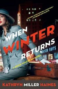 When Winter Returns - Kathryn Miller Haines - cover