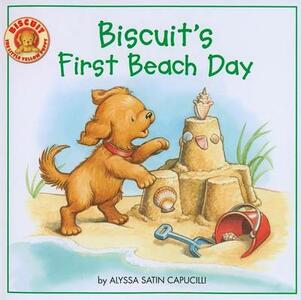 Biscuit's First Beach Day - Alyssa Satin Capucilli - cover