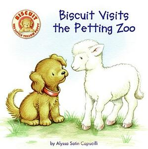 Biscuit Visits the Petting Zoo - Alyssa Satin Capucilli - cover