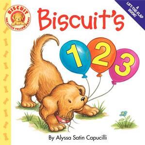 Biscuit's 123 - Alyssa Satin Capucilli - cover