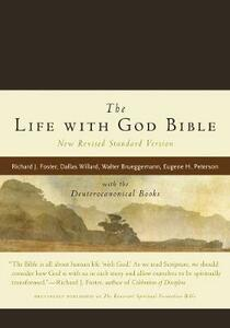 NRSV, The Life with God Bible, Compact, Italian Leather, Brown: with the Deuterocanonical Books - Richard J. Foster - cover