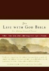 NRSV, The Life with God Bible, Compact, Italian Leather, Burgundy - Richard J. Foster - cover