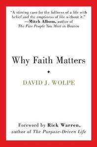 Why Faith Matters - David J Wolpe - cover