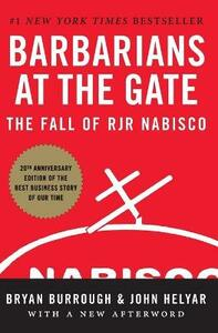 Barbarians at the Gate: The Fall of RJR Nabisco - Bryan Burrough,John Helyar - cover
