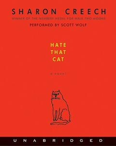 Hate That Cat CD - Sharon Creech - cover