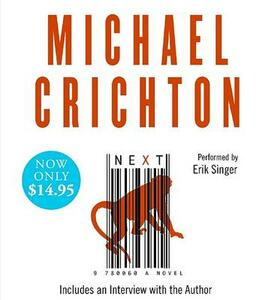 Next - Michael Crichton - cover