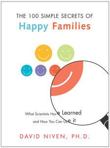 Foto Cover di The 100 Simple Secrets of Happy Families, Ebook inglese di David Niven, PhD, edito da HarperCollins
