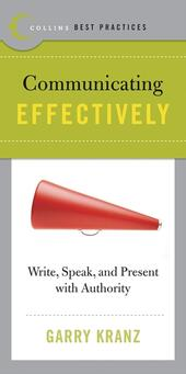 Best Practices: Communicating Effectively