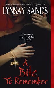Foto Cover di A Bite to Remember, Ebook inglese di Lynsay Sands, edito da HarperCollins