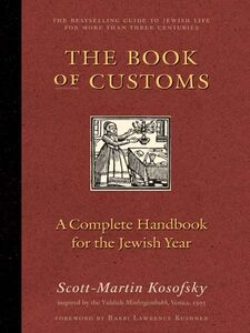 Ebook in inglese The Book of Customs Kosofsky, Scott-Martin