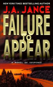 Foto Cover di Failure to Appear, Ebook inglese di J. A. Jance, edito da HarperCollins