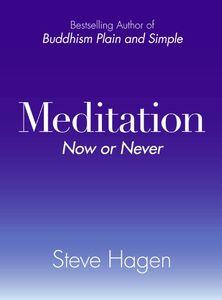Foto Cover di Meditation Now or Never, Ebook inglese di Steve Hagen, edito da HarperCollins