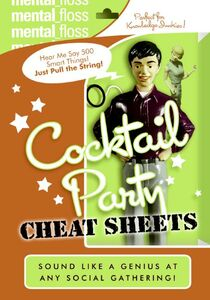 Foto Cover di Mental Floss: Cocktail Party Cheat Sheet, Ebook inglese di Editors of Mental Floss, edito da HarperCollins