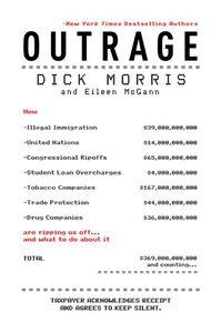 Foto Cover di Outrage, Ebook inglese di Eileen McGann,Dick Morris, edito da HarperCollins