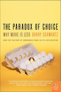 Foto Cover di The Paradox of Choice, Ebook inglese di Barry Schwartz, edito da HarperCollins