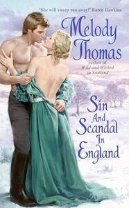 Foto Cover di Sin and Scandal in England, Ebook inglese di Melody Thomas, edito da HarperCollins