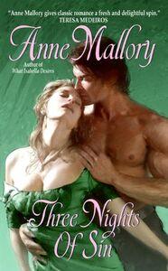 Foto Cover di Three Nights of Sin, Ebook inglese di Anne Mallory, edito da HarperCollins
