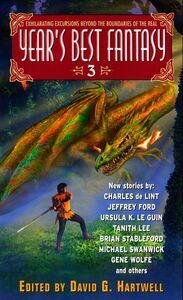 Foto Cover di Year's Best Fantasy 3, Ebook inglese di Kathryn Cramer,David G. Hartwell, edito da HarperCollins