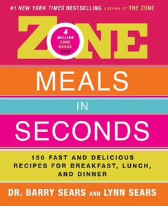 Foto Cover di Zone Meals in Seconds, Ebook inglese di Barry Sears, edito da HarperCollins