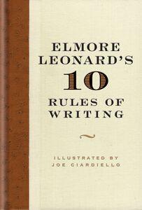 Foto Cover di Elmore Leonard's 10 Rules of Writing, Ebook inglese di Elmore Leonard, edito da HarperCollins