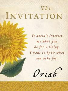Foto Cover di The Invitation, Ebook inglese di Oriah, edito da HarperCollins