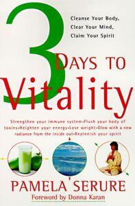 Foto Cover di 3 Days to Vitality, Ebook inglese di Pamela Serure, edito da HarperCollins