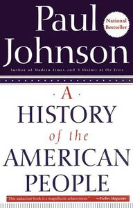 Foto Cover di A History of the American People, Ebook inglese di Paul Johnson, edito da HarperCollins